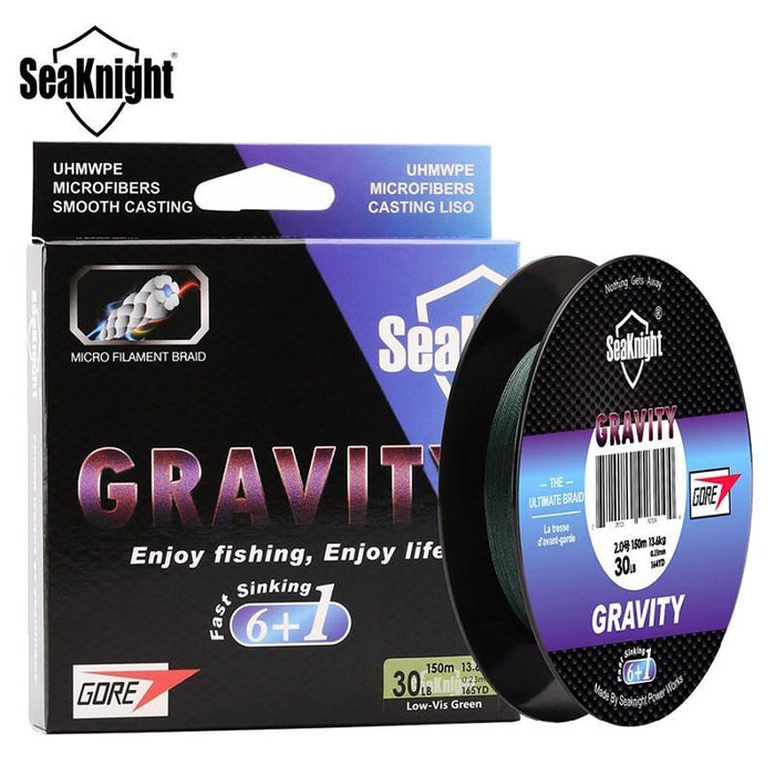 Seaknight Gravity 150M 20-40Lb Fast Sinking Fishing Line 7 Strands Braided-Angler & Cyclist's Store-1.0-Bargain Bait Box