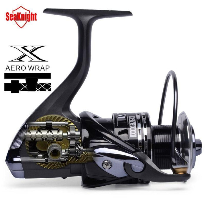 Seaknight Spinning Reel Worm Shaft Structure 13Bb Ga2000/ 3000/ 4000 Carbon-Spinning Reels-Angler & Cyclist's Store-2000 Series-Bargain Bait Box