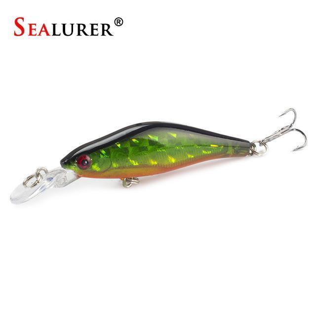Sealurer 1Pcs/Lot Fishing Lures 8Cm/6G Crankbaits Swimbaits Jerkbaits Fishing-SEALURER Official Store-A-Bargain Bait Box
