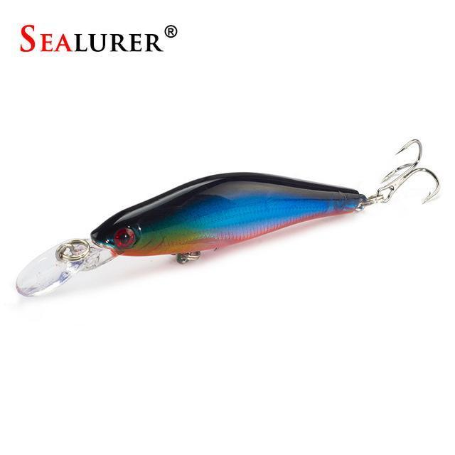 Sealurer 1Pcs/Lot Fishing Lures 8Cm/6G Crankbaits Swimbaits Jerkbaits Fishing-SEALURER Official Store-B-Bargain Bait Box