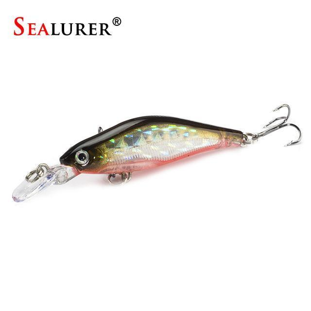 Sealurer 1Pcs/Lot Fishing Lures 8Cm/6G Crankbaits Swimbaits Jerkbaits Fishing-SEALURER Official Store-C-Bargain Bait Box