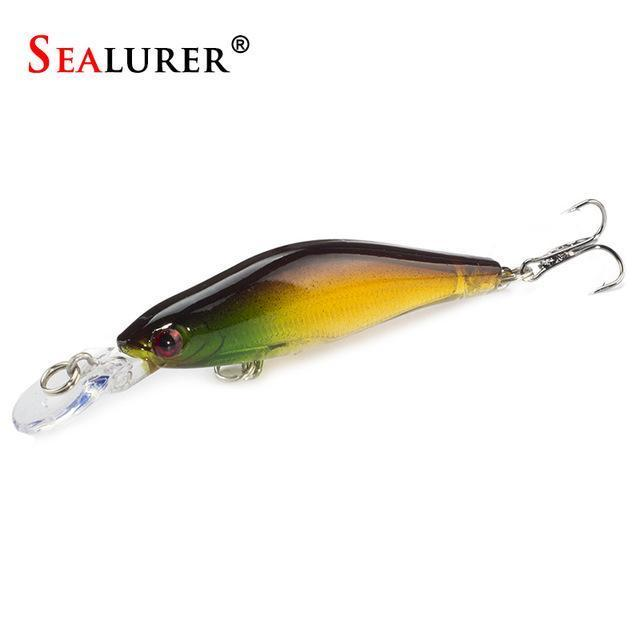 Sealurer 1Pcs/Lot Fishing Lures 8Cm/6G Crankbaits Swimbaits Jerkbaits Fishing-SEALURER Official Store-E-Bargain Bait Box