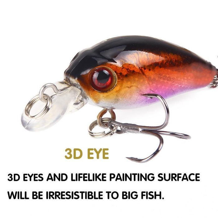 Seapesca Mini Minnow Fishing Lures Hard Bait Floating Wobblers 4.5Cm 4.2G-SEAPESCA Fishing Store-A-Bargain Bait Box