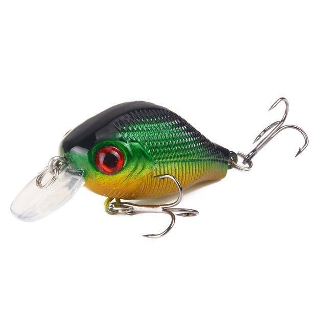 Seapesca Minnow Fishing Lure 5.5Cm 9G Crankbait Hard Bait Artificial Lures Japan-SEAPESCA Fishing Store-E-Bargain Bait Box