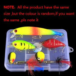 Set 5Pcs/Lot Fishing Make 5 Model Bait-Mixed Combos & Kits-Bargain Bait Box-Bargain Bait Box