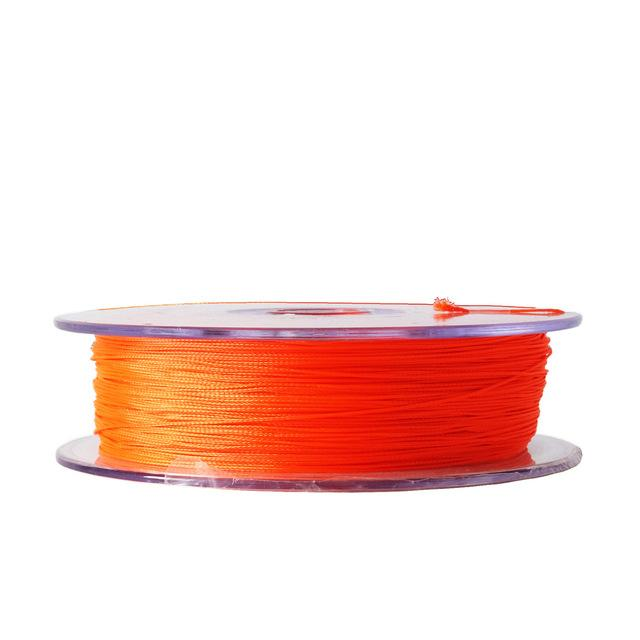Sf 30Lb 20Lb 50M/54Yds Backing Line Dacron Pe Braided Fly Fishing Trout Line-SF Store-Orange-30LB-Bargain Bait Box