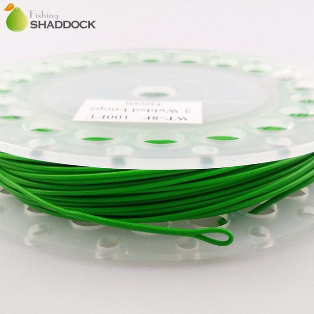 Shaddock Fishing 100Ft 30.5M Floating Fly Fishing Line Wf-5F/6F/7F/8F Weight-shaddock fishing Official Store-Green-Bargain Bait Box