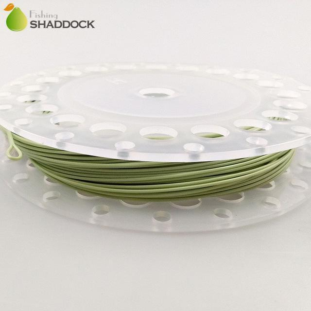 Shaddock Fishing 100Ft 30.5M Floating Fly Fishing Line Wf-5F/6F/7F/8F Weight-shaddock fishing Official Store-Moss Green-Bargain Bait Box