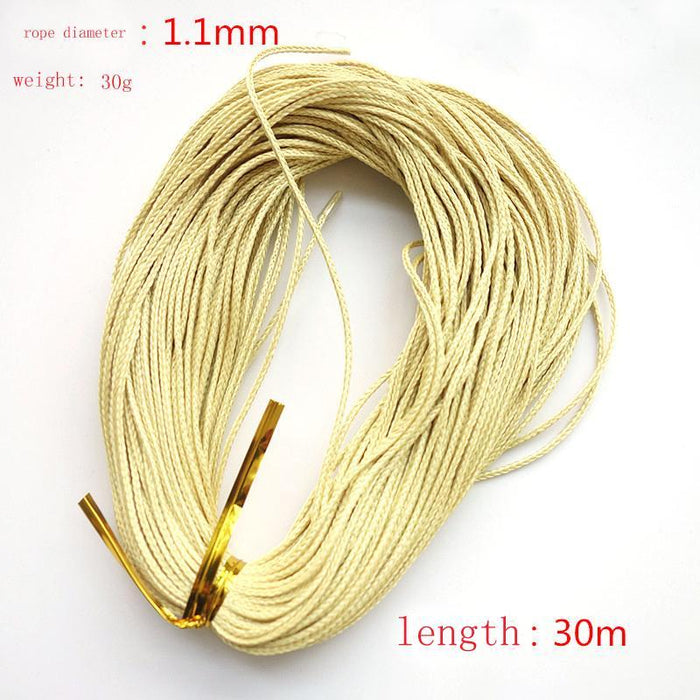 Shared With Fish 1Pcs 1.1Mm 1.2Mm 1.5Mm Braided Kevlar Line Kite String To The-shared with fish Official Store-1.1-Bargain Bait Box