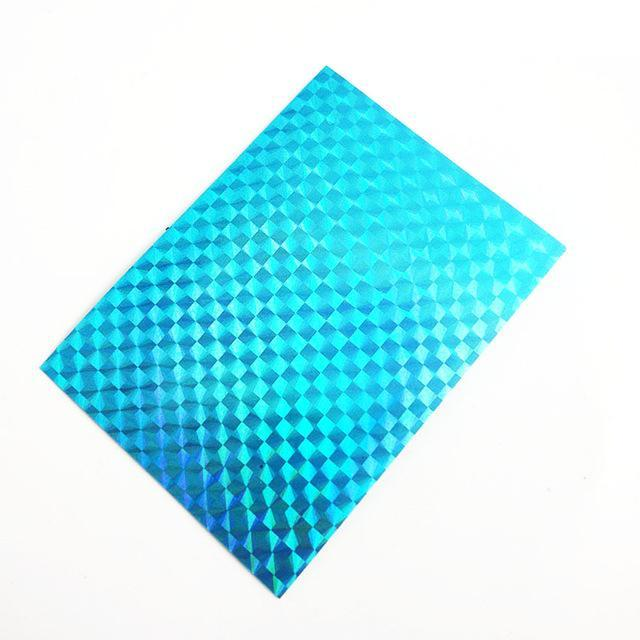 Shared With Fish 20Pcs Adhesive Holographic Tape Reflective Tapes Decoration-Holographic Stickers-Bargain Bait Box-SJ76 BLUE-Bargain Bait Box
