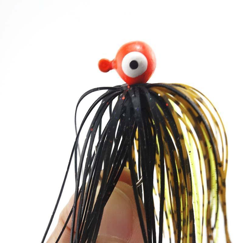 Shared With Fish 3Pcs Colorful Fishing Rubber Jig Skirts Silicone Skirt Wire-Bass Jigs-Bargain Bait Box-Bargain Bait Box