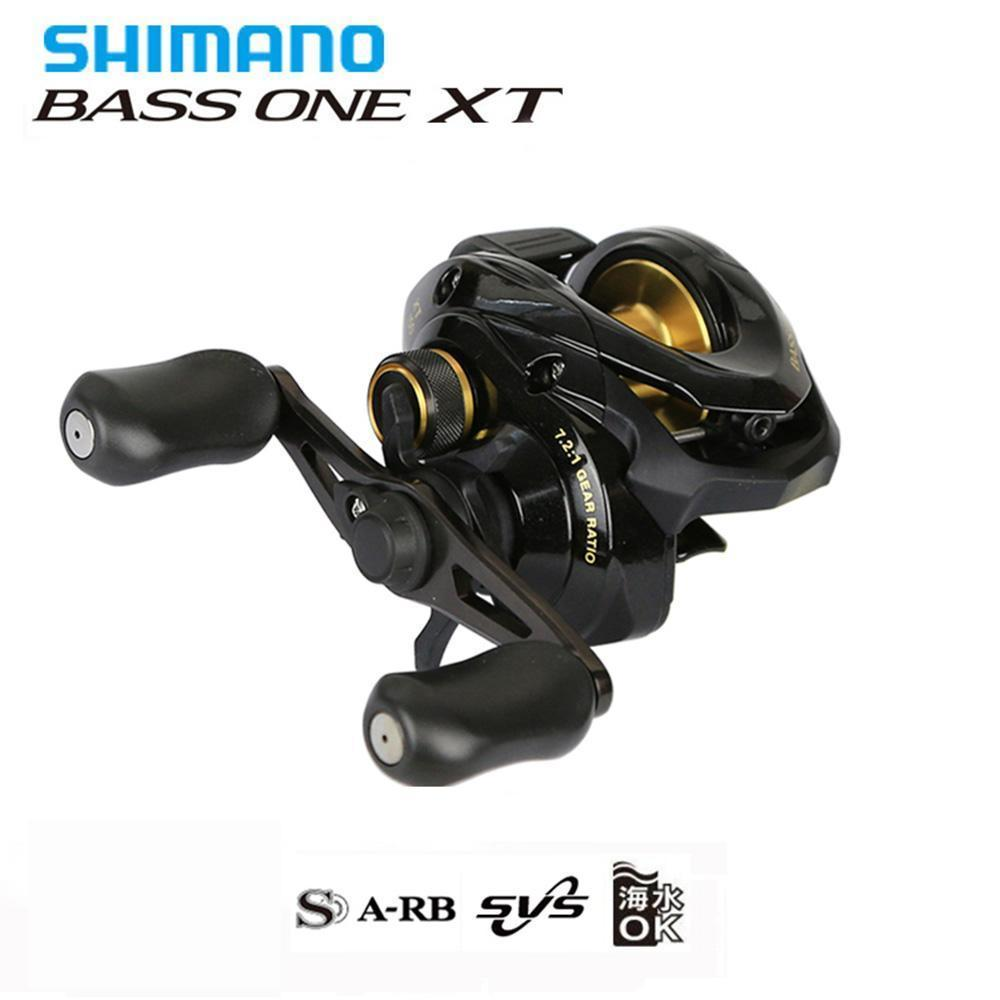 Shimano Bass One Xt Baitcast Reel 7.2:1 4+1Bb Top Quality Svs Brake-Baitcasting Reels-Fishing Enjoying Store-Left Hand-Bargain Bait Box
