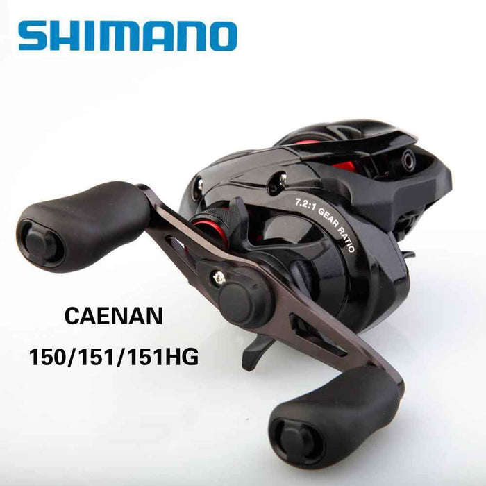 Shimano Caenan Baitcasting Fishing Reel 205G 6.3:1 4+1Bb 5Kg Power S3D-Baitcasting Reels-Fishing Enjoying Store-151-Bargain Bait Box