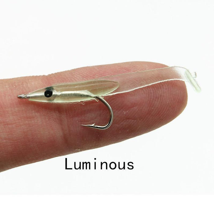 Shunmier 30Pcs 0.3G 35Mm Eel Soft Fishing Lure Pesca Peche Tackle Wobblers-SHUNMIER Official Store-A-Bargain Bait Box