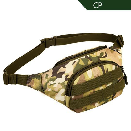 Sinairsoft Tactical Molle Bag Waterproof Waist Bag Fanny Pack Climbing Hiking-SINAIRSOFT Official Store-CP-Bargain Bait Box
