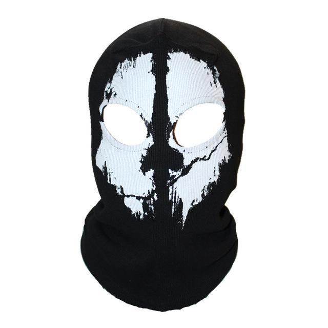 Skull Mask Balaclava Beanies Hats Men Ghost Skull Full Face Mask Out Door Hood-Masks-Bargain Bait Box-10-Bargain Bait Box