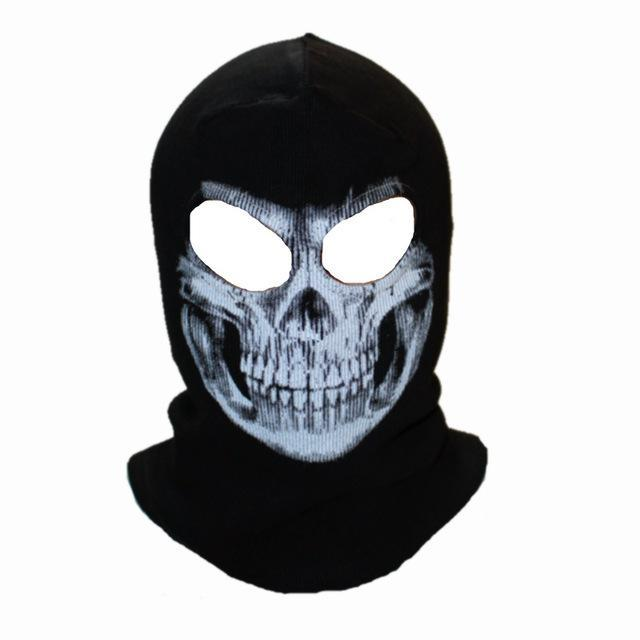 Skull Mask Balaclava Beanies Hats Men Ghost Skull Full Face Mask Out Door Hood-Masks-Bargain Bait Box-16-Bargain Bait Box