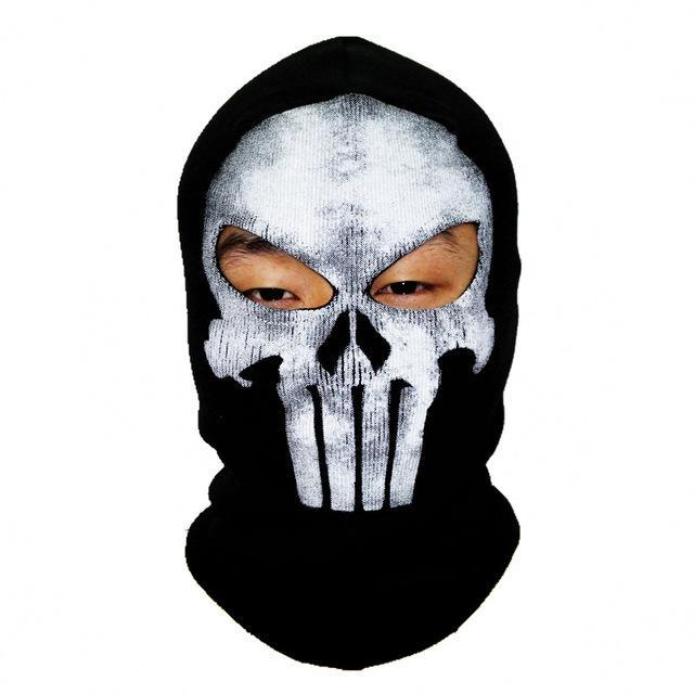 Skull Mask Balaclava Beanies Hats Men Ghost Skull Full Face Mask Out Door Hood-Masks-Bargain Bait Box-17-Bargain Bait Box
