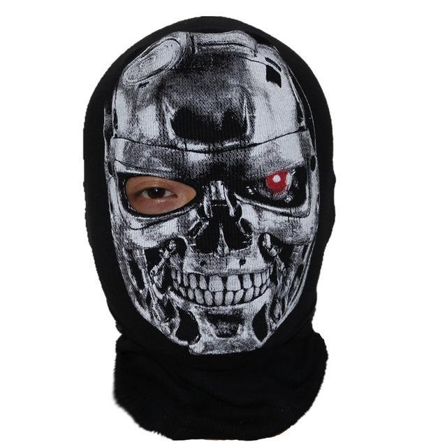 Skull Mask Balaclava Beanies Hats Men Ghost Skull Full Face Mask Out Door Hood-Masks-Bargain Bait Box-21-Bargain Bait Box