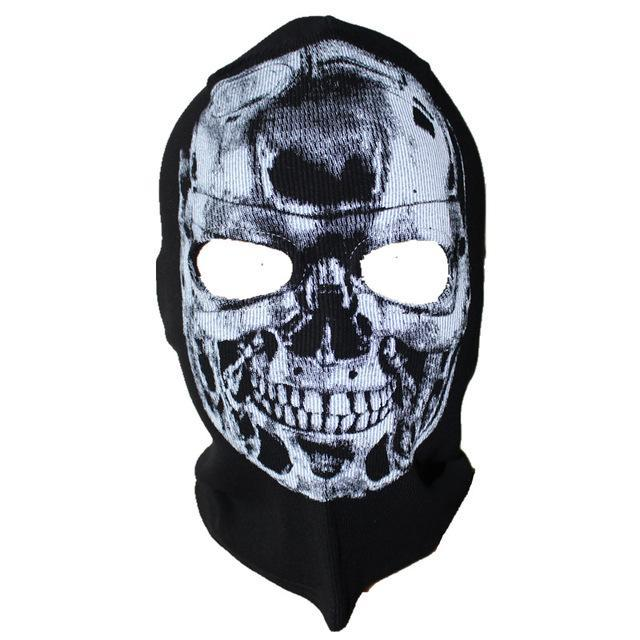 Skull Mask Balaclava Beanies Hats Men Ghost Skull Full Face Mask Out Door Hood-Masks-Bargain Bait Box-22-Bargain Bait Box
