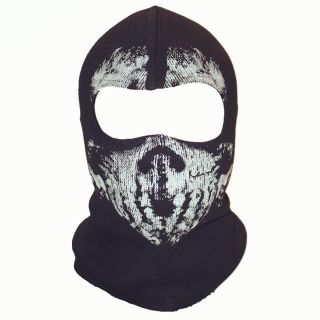 Skull Mask Balaclava Beanies Hats Men Ghost Skull Full Face Mask Out Door Hood-Masks-Bargain Bait Box-4-Bargain Bait Box