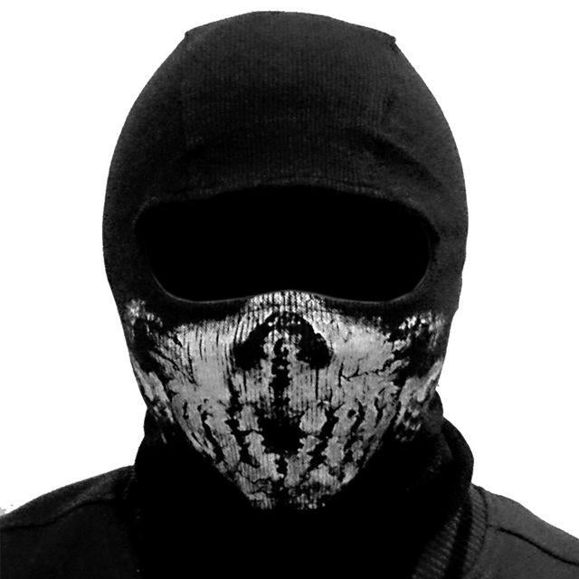 Skull Mask Balaclava Beanies Hats Men Ghost Skull Full Face Mask Out Door Hood-Masks-Bargain Bait Box-5-Bargain Bait Box