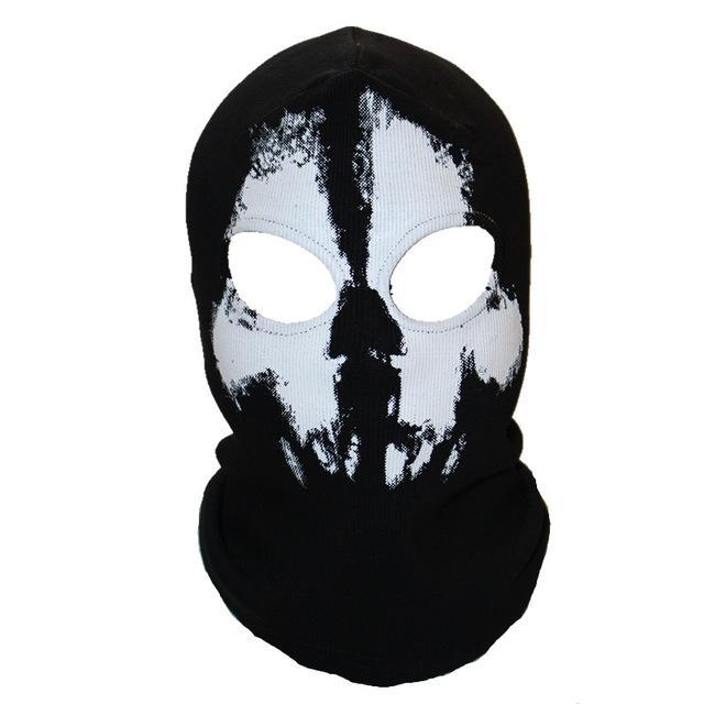 Skull Mask Balaclava Beanies Hats Men Ghost Skull Full Face Mask Out Door Hood-Masks-Bargain Bait Box-6-Bargain Bait Box