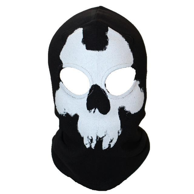 Skull Mask Balaclava Beanies Hats Men Ghost Skull Full Face Mask Out Door Hood-Masks-Bargain Bait Box-7-Bargain Bait Box