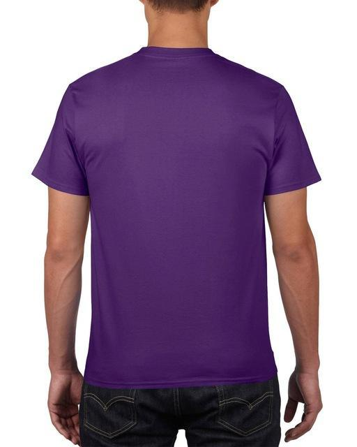 Sleeves Cotton T Shirt Gildan Casual Short O-Neck Mens I'D Rather Be Fing-Shirts-Bargain Bait Box-Purple-Asia Size S-Bargain Bait Box