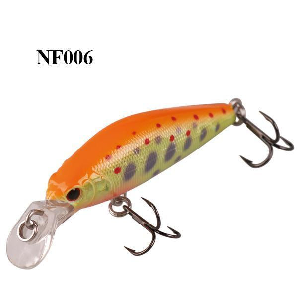 Smart 42Mm/3.66G Minnow Lures Sinking Vmc Hook Souple Iscas Artificiais Swimbait-Bassking Fishing Tackle Co,Ltd Store-NF006-Bargain Bait Box