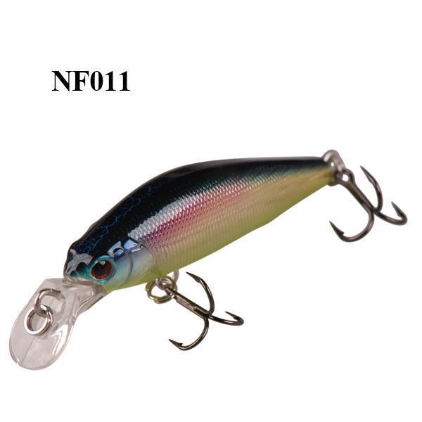Smart 42Mm/3.66G Minnow Lures Sinking Vmc Hook Souple Iscas Artificiais Swimbait-Bassking Fishing Tackle Co,Ltd Store-NF011-Bargain Bait Box