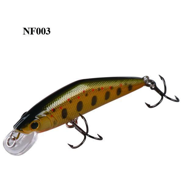 Smart Minnow Bait 50Mm/3.6G Sinking Hard Fishing Lures Isca Artificial Para-Luremaster Fishing Tackle-NF003-Bargain Bait Box