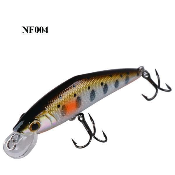Smart Minnow Bait 50Mm/3.6G Sinking Hard Fishing Lures Isca Artificial Para-Luremaster Fishing Tackle-NF004-Bargain Bait Box