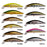 Smart Minnow Bait 55Mm4.6G Sinking Fishing Lures Vmc Hook Isca Artificial Para-SmartLure Store-NF001-Bargain Bait Box