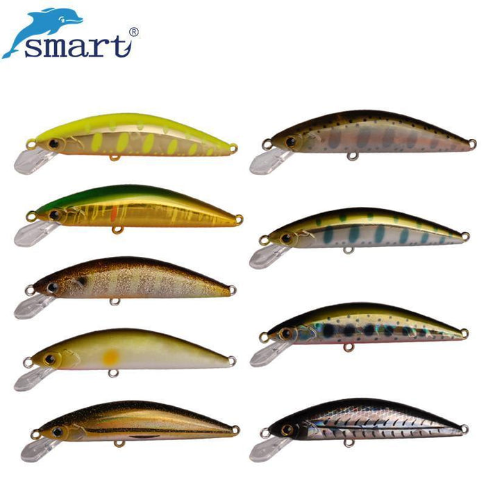 Smart Minnow Fishing Lure 45Mm/3.7G Swimbait Fishing Wobblers Iscas-KeZhi Fishing Tackle Store-NF001-Bargain Bait Box