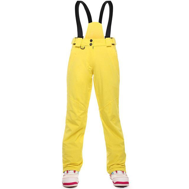 dd2c41a055 Snowboard Pants For Women Thicken Female Ski Pants Woman Snow Trousers  Thermal-Snow Pants-