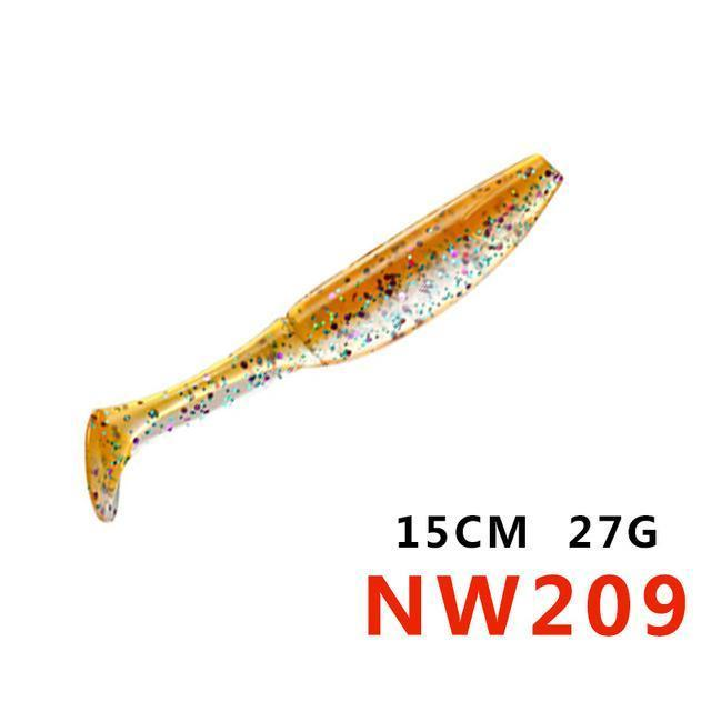 Soft Bait 12.5Cm 15Cm 10Colors Noeby Lifelike Special Fishing Lure Plastic Baits-hunt-house Store-150mm27gNW209-Bargain Bait Box