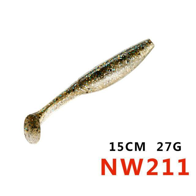 Soft Bait 12.5Cm 15Cm 10Colors Noeby Lifelike Special Fishing Lure Plastic Baits-hunt-house Store-150mm27gNW211-Bargain Bait Box