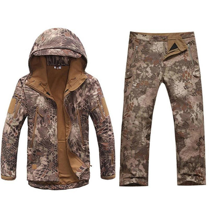 Softshell Tad Hunting Tactical Jacket Or Pants Thin Fleece Lining Outdoor Hiking-FS Outdoor Hunting Store-01-S-Bargain Bait Box