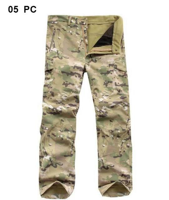 Softshell Tad Hunting Tactical Jacket Or Pants Thin Fleece Lining Outdoor Hiking-FS Outdoor Hunting Store-016-S-Bargain Bait Box