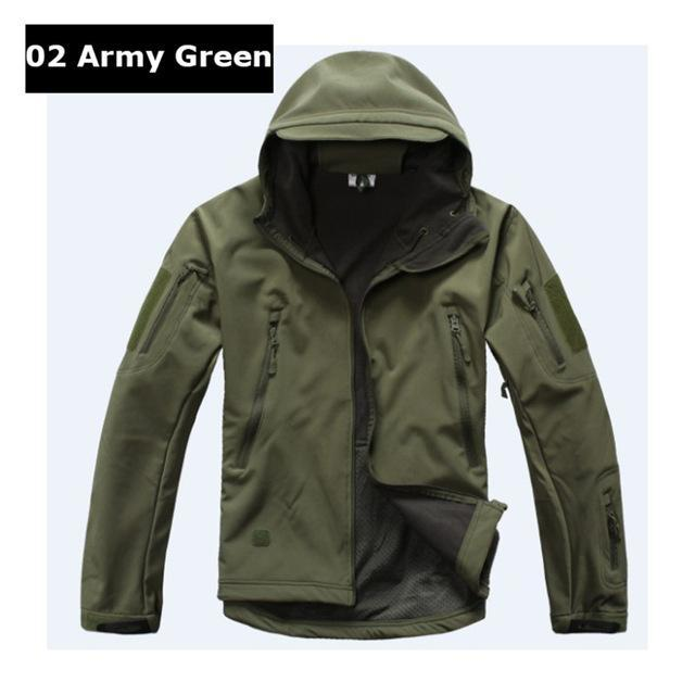 Softshell Tad Hunting Tactical Jacket Or Pants Thin Fleece Lining Outdoor Hiking-FS Outdoor Hunting Store-02-S-Bargain Bait Box