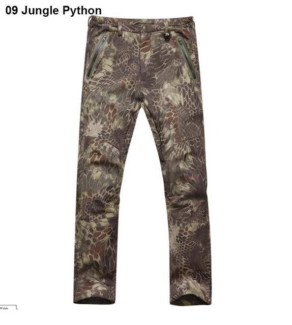 Softshell Tad Hunting Tactical Jacket Or Pants Thin Fleece Lining Outdoor Hiking-FS Outdoor Hunting Store-020-S-Bargain Bait Box