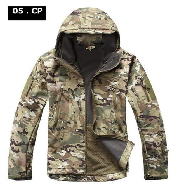 Softshell Tad Hunting Tactical Jacket Or Pants Thin Fleece Lining Outdoor Hiking-FS Outdoor Hunting Store-05-S-Bargain Bait Box