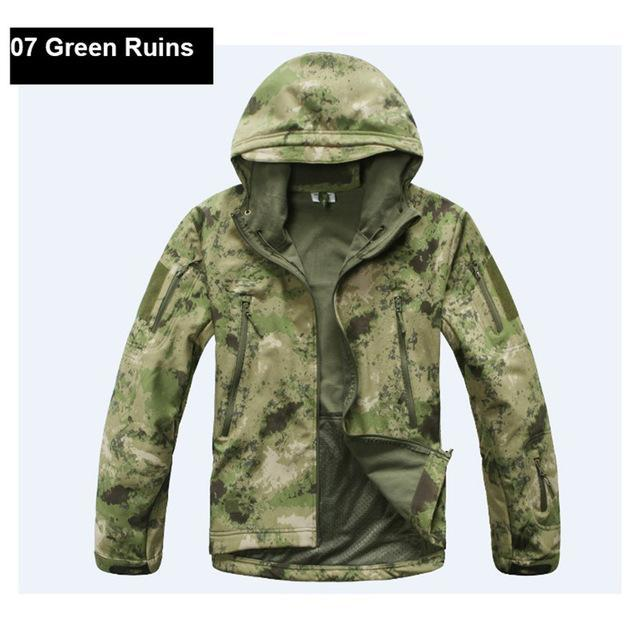 Softshell Tad Hunting Tactical Jacket Or Pants Thin Fleece Lining Outdoor Hiking-FS Outdoor Hunting Store-07-S-Bargain Bait Box