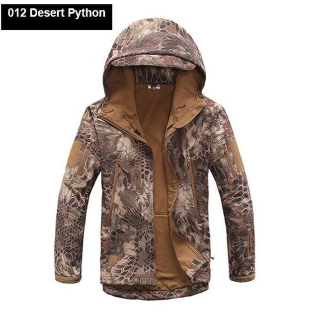 Softshell Tad Hunting Tactical Jacket Or Pants Thin Fleece Lining Outdoor Hiking-FS Outdoor Hunting Store-11-S-Bargain Bait Box