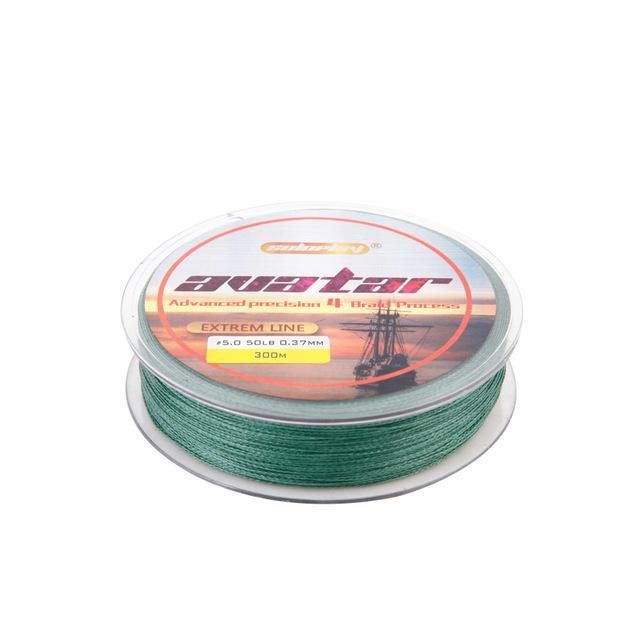 Soloplay Superpower 100M 8Lb - 80Lb Braided Fishing Line Pe Strong Multifilament-Li Fishing geer Co.,Ltd-Green-0.4-Bargain Bait Box