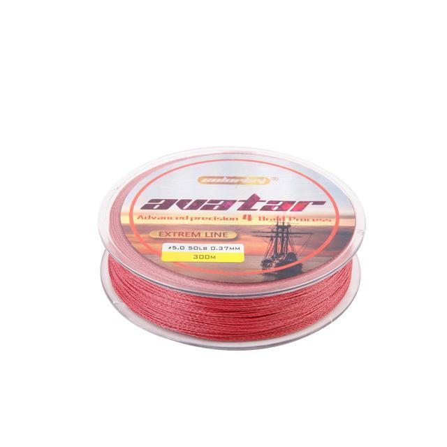 Soloplay Superpower 100M 8Lb - 80Lb Braided Fishing Line Pe Strong Multifilament-Li Fishing geer Co.,Ltd-Red-0.4-Bargain Bait Box