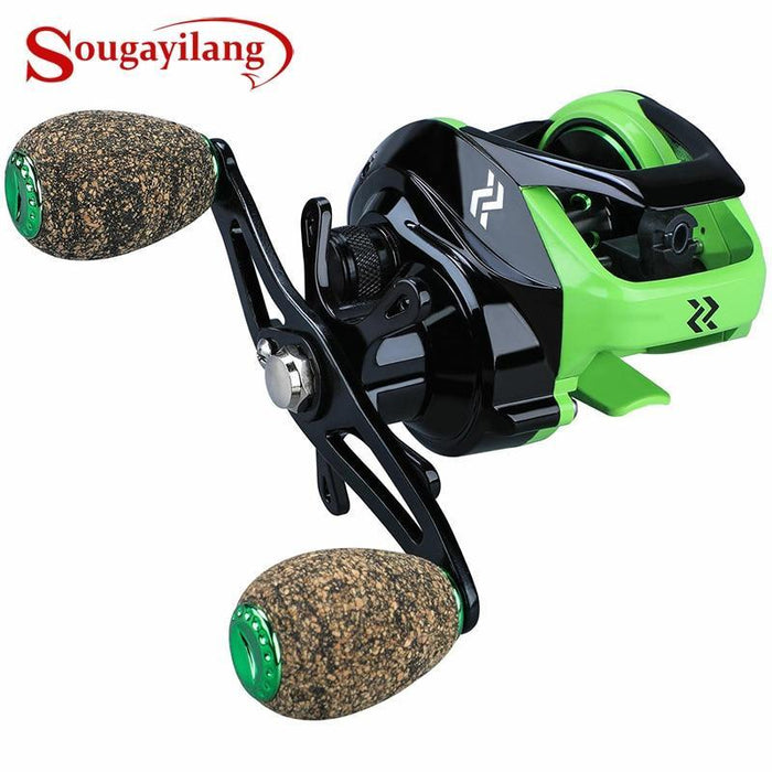 Sougayilang 7.2:1 High Speed Baitcasting Casting Reel Carp Fishing-Fishing Reels-Sougayilang Official Store-Silver-Bargain Bait Box