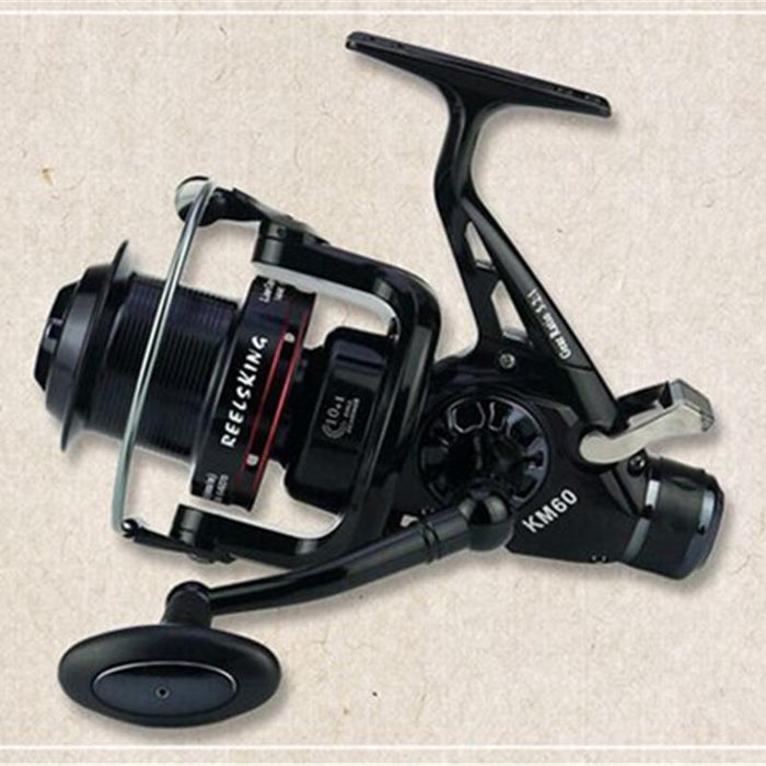Spinning Fishing Reel 10+1Bb 5.2:1 Saltewater Carp Long Casting Double-Spinning Reels-ArrowShark fishing gear shop Store-5000 Series-Bargain Bait Box