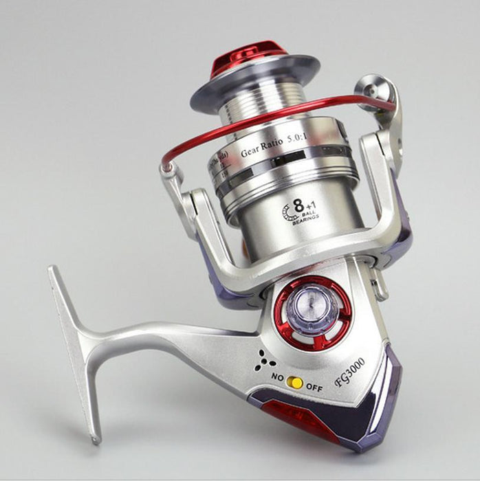 Spinning Fishing Reel 9Bb With Led Intelligent Alarm Electric Fish Wheel-Spinning Reels-GLOBAL WHOLESALING Store-3000 Series-Bargain Bait Box
